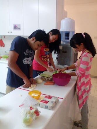 Cyfes cooking workshop