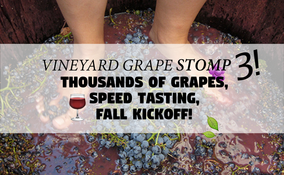 Vineyard Grape Stomp 3 - 2018 - Event and Facebook Cover Photo