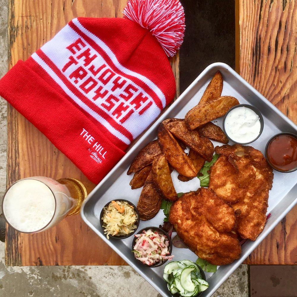 Chicken Schnitzel + Enjoyski Troyski Hat.jpg