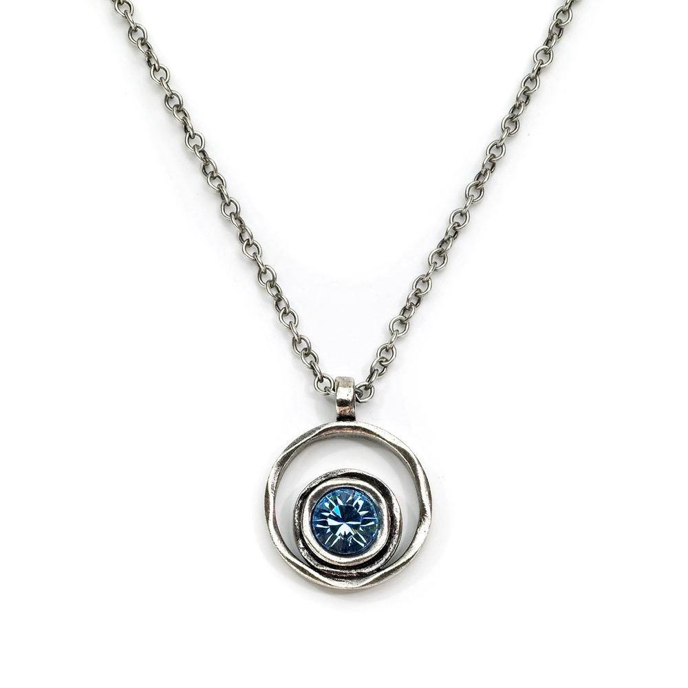 Patricia Locke - Chicago, IL.  Multi-metal earrings, necklaces, & bracelets with semi-precious stones.