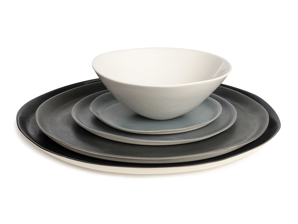 Dubhe Carreño - Chicago, IL.  Delicate, subtle porcelain tableware.