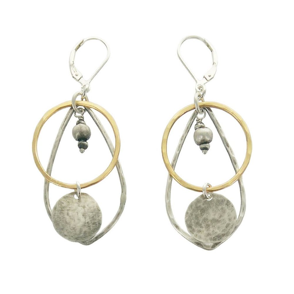 J & I Jewelry - Philadelphia, PA.  Earrings, rings, & necklaces with 14k gold, sterling silver, pears, & labradorite.