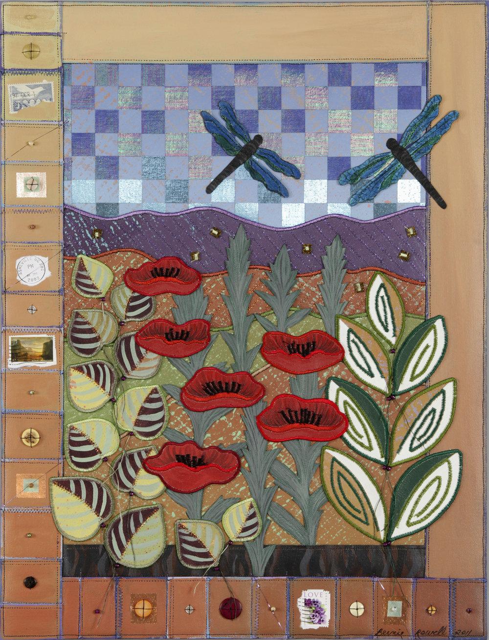 Bernie Rowell poppiesanddragonflies.jpg