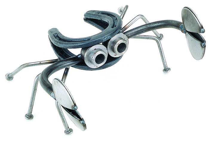 Yardbirds  Animals handcrafted from scrap metal parts for the home & garden.