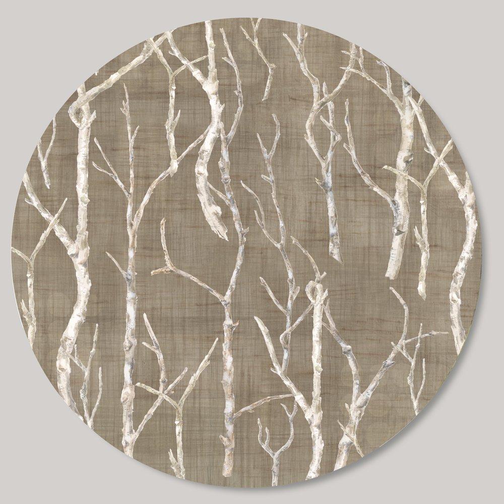 Janna Ugone & Co. - Easthampton, MA.  Handmade lighting & lazy susans using high-quality prints of original paintings.