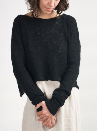 Cara May Knits - Asheville, NC.  Hand-knit boutique wear made from natural fibers.
