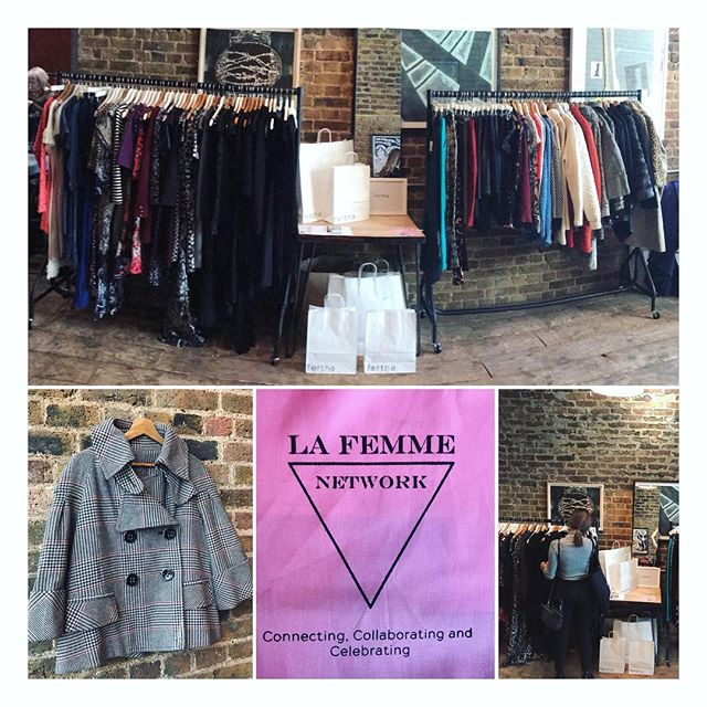 Popped up 🔝 at the @la_femme_network  Fashion event today....lots of fun, lots of drinks, lots of happy customers....thank you La Femme ladies for organising such a great event. 🙌🏻 #lafemmenetwork #womenempowerment #womensfashion #womeninspiringwomen #sustainablefashion #sustainableliving #eco #ecofashioj#secondhandfirst #thrift #thrifted #secondhand #charity #charityshopping