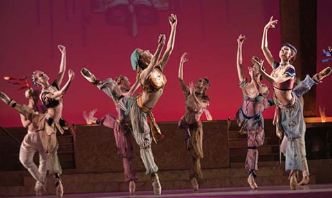 Bulgarian National Ballet, Scheherazade