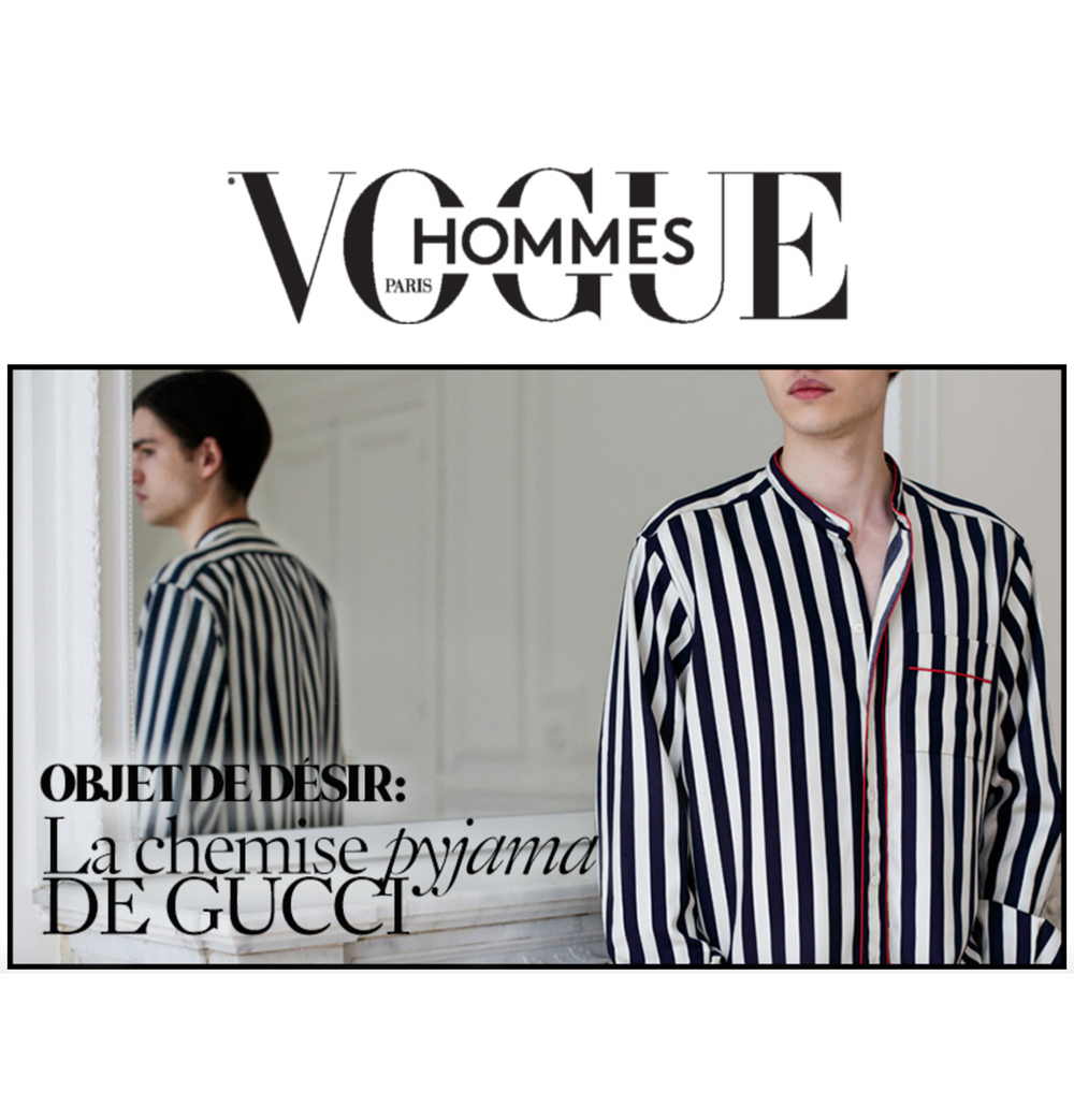 VOGUE HOMMES: OBJECT OF DESIRE