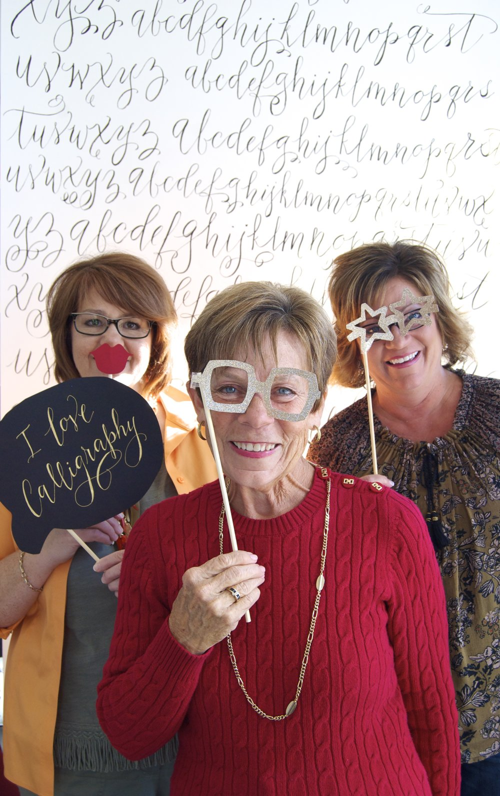 Photo Booth Calligraphy Workshop