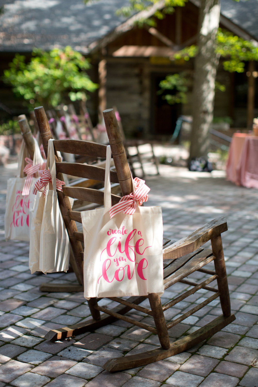 Welcome Bags Inspired Retreat