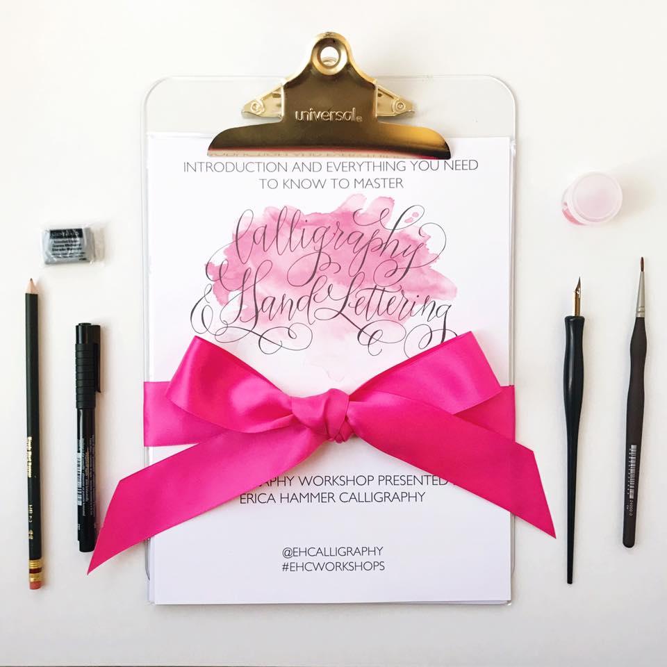 Calligraphy Workbook
