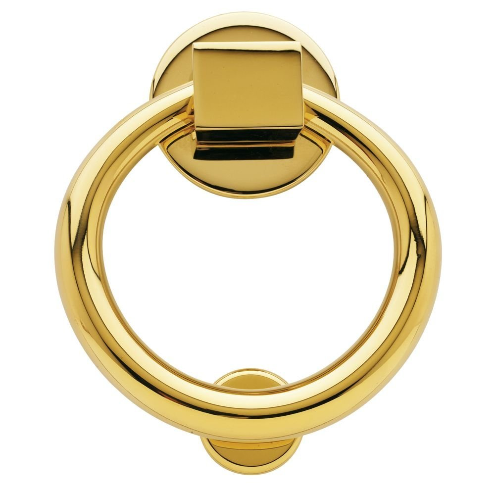 Brass Ring Door Knocker