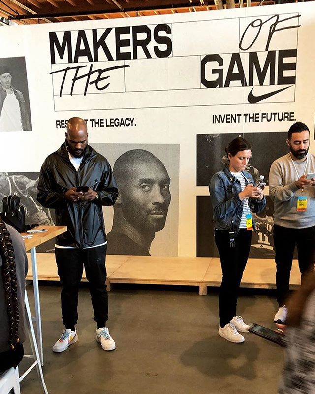 "Shoutout @dolobolo for giving me a glimpse into @nike ""Makers of the game"" and the @jumpman23 ""Jumpman"" event at All-Star Weekend! #AllStarWeekend #Nike #MakersOfTheGame #Jumpman"