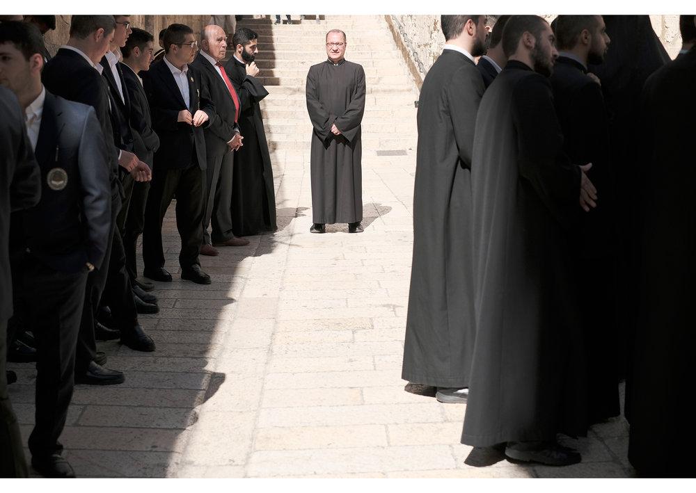 Greek Orthodoxs waiting
