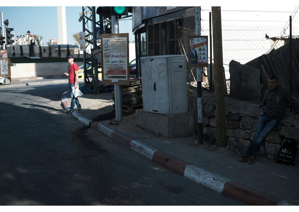 Street scene, light and shadow