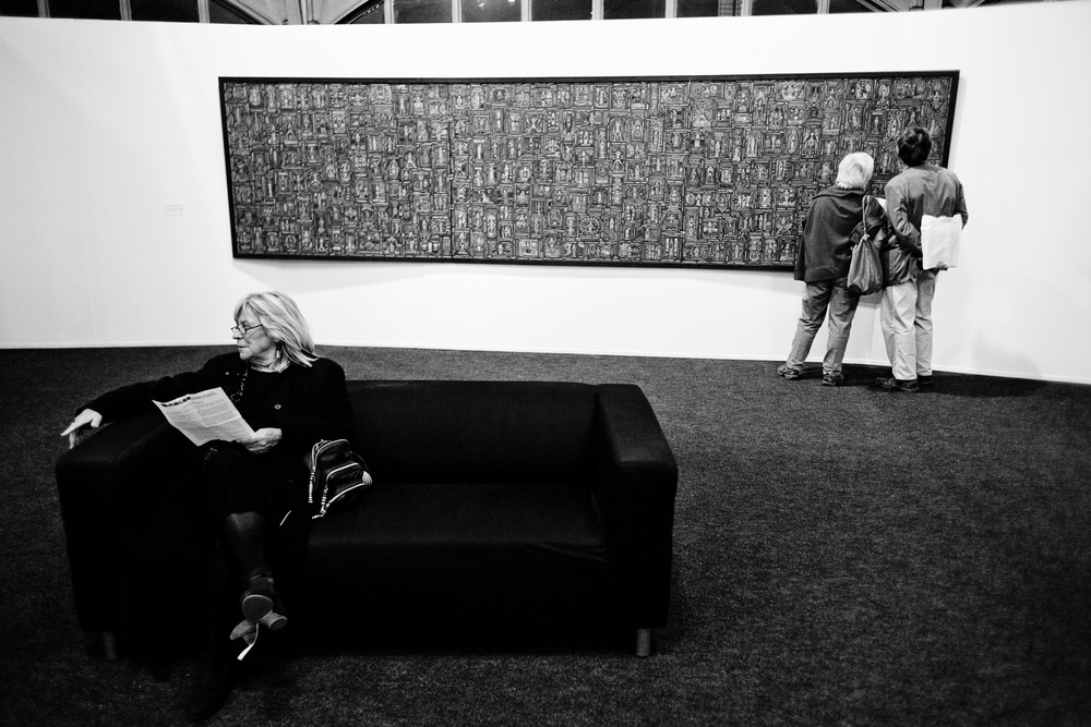 Exposition à la Halle Saint Pierre, Paris. 2010.