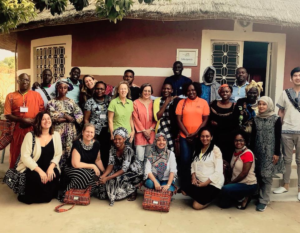 Karen in Senegal with Tostan Community