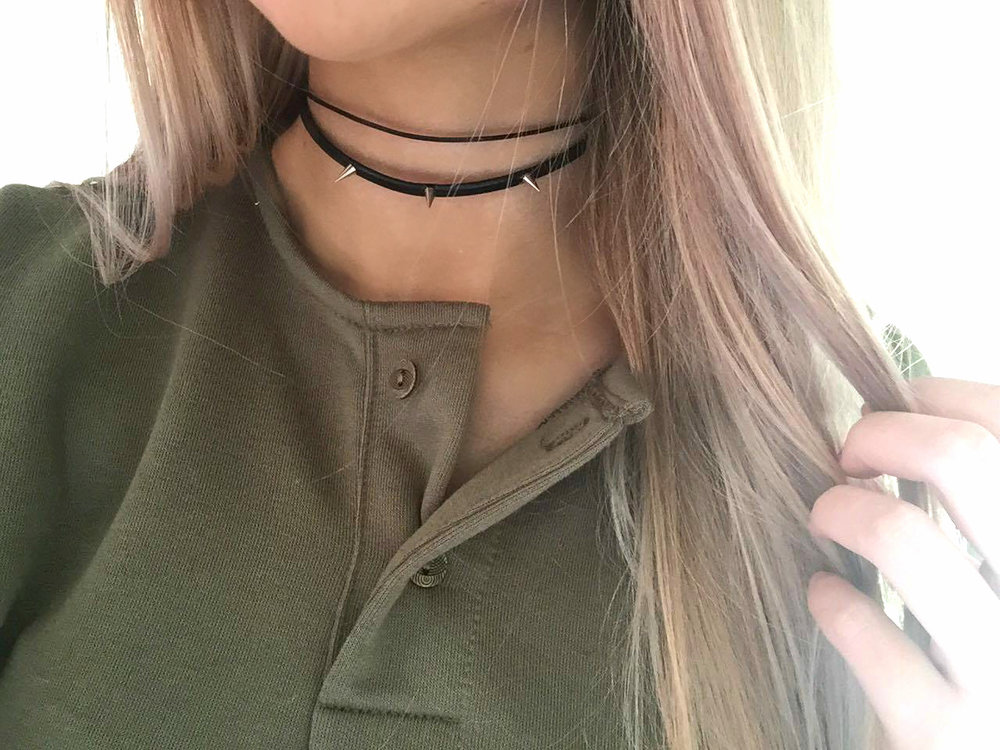 Choker: Missguided Top: Asos