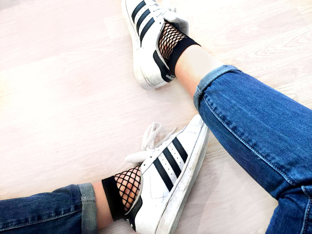 Socks: Asos Shoes: Adidas Jeans: Misguided