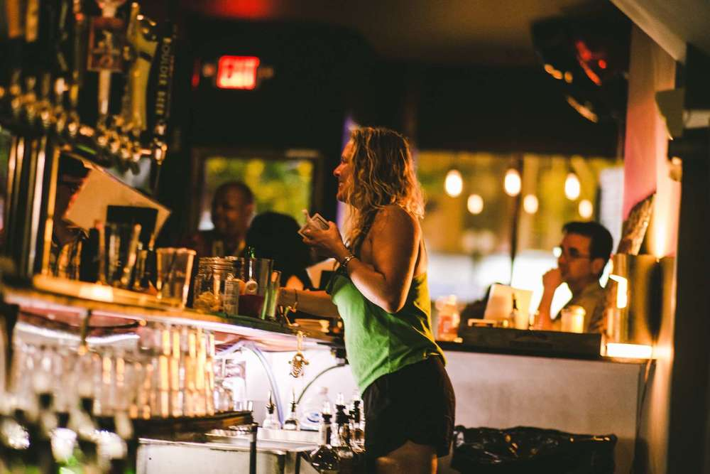 Danielle Behind the Bar.jpg