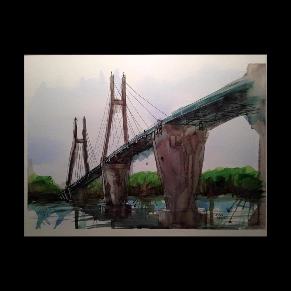 Jamie Green | Painting | jgcartoons.com