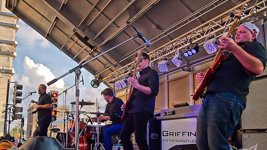 Some really great shots by @bad_wolf_quincy of @thedistrictquincy Street Concert with Quincy's very own The Gentlemen and Griffin and the Gargoyles! . #quincyil #rightonq #griffinandthegargoyles #thegentlemen #streetconcert #livemusic . @quincyartcenter @quincyrightonq @quincymedgroup @adamsfiber @knapheide1848 @seequincyil @natlmainstreet