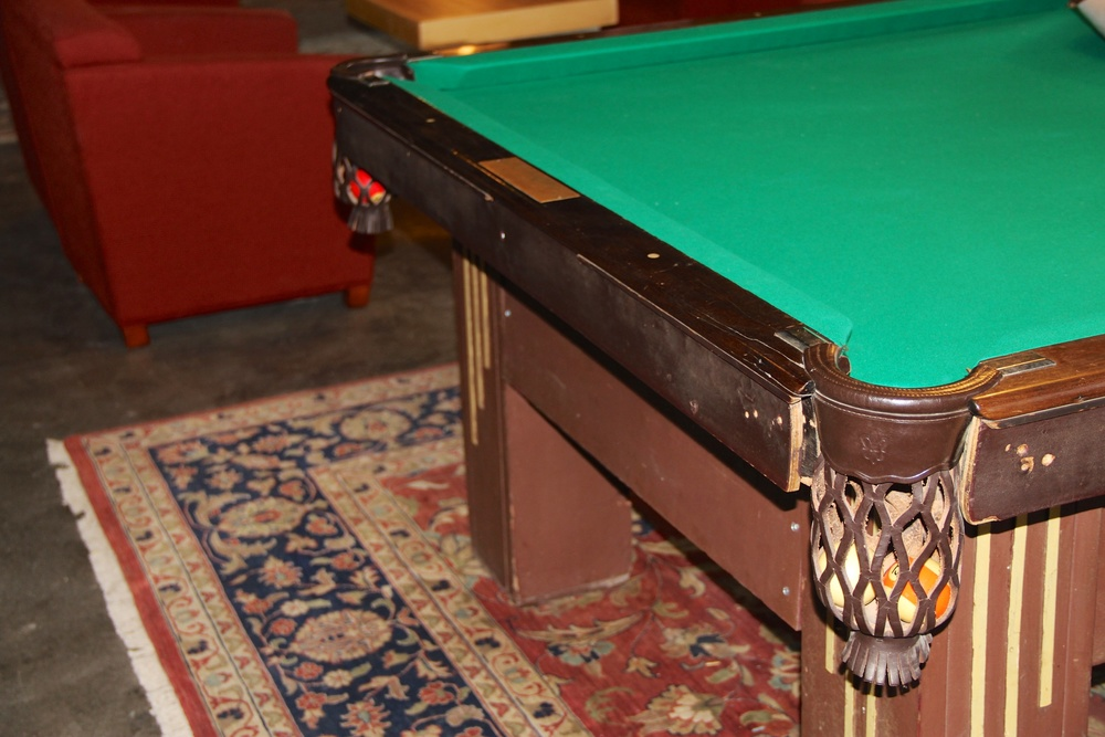 Rubys Arcade Pool Table