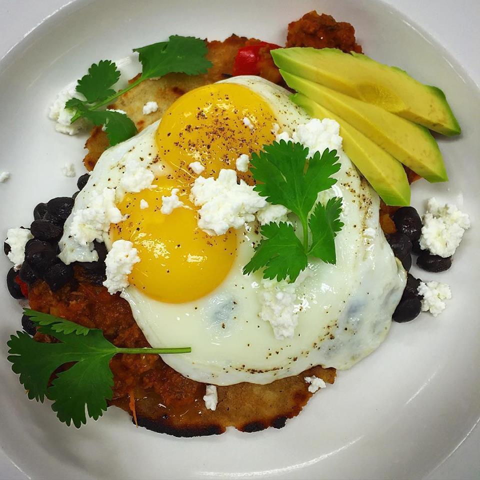 Huevos Rancheros con Cordero // credit: joshua Wilton House