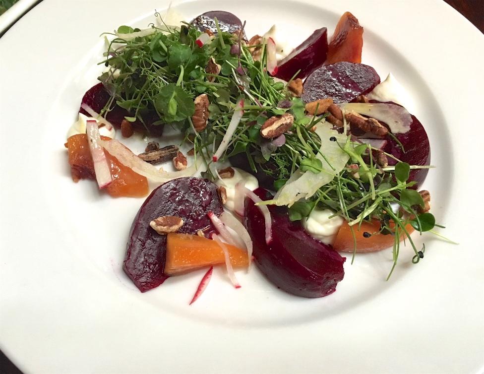 Beet salad. Photo by Kim Kirk