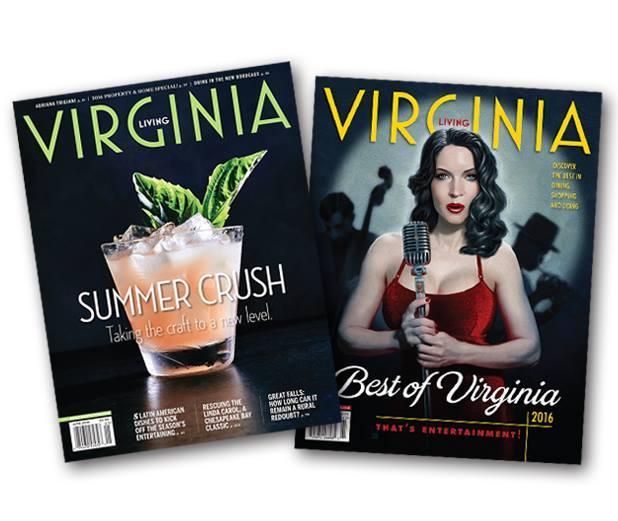 Virginia Living Magazine Cover