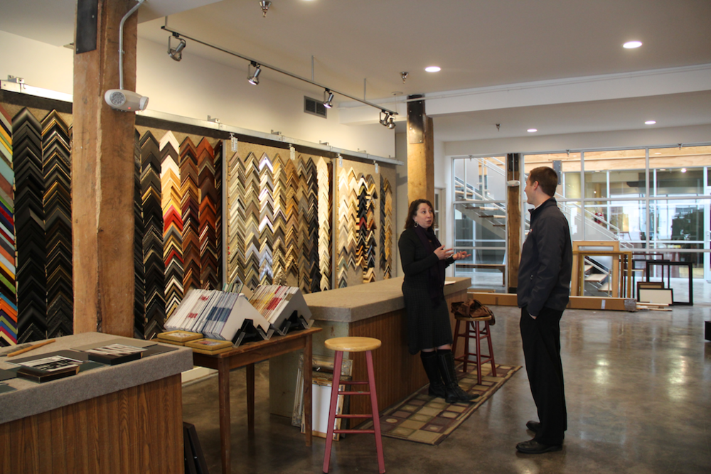 The Frame Factory owner Dana Harshberger Talks with Mike Hendrickson, Chief Operating Officer at Matchbox Realty.
