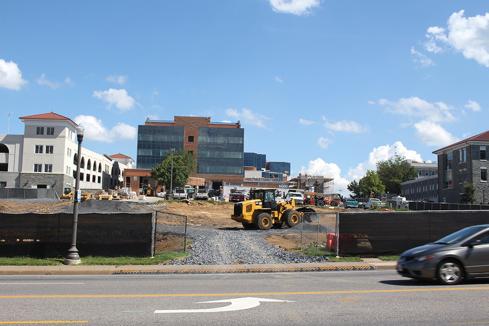 Hotel Madison & The Shenandoah Valley Conference Center will be situated on the intersection of Grace and Main Streets.