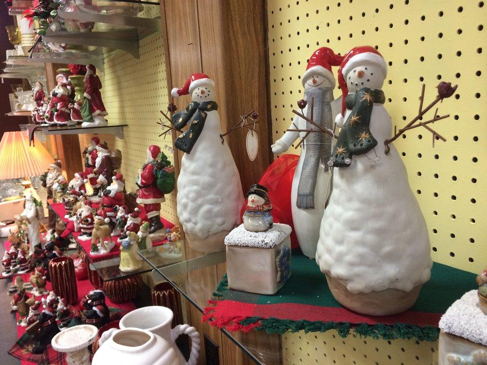 Snowman figurine