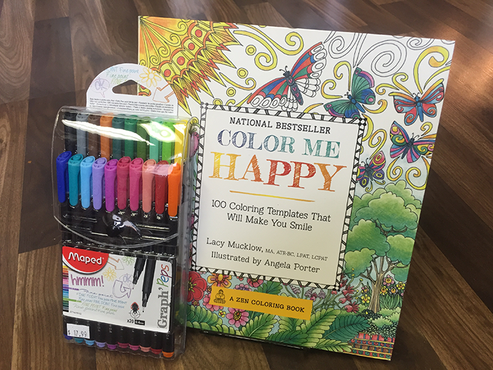 Zen Coloring Book and Pen Set