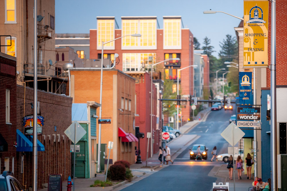 A View from Water Street. Photo credit: Michael Sheeler.