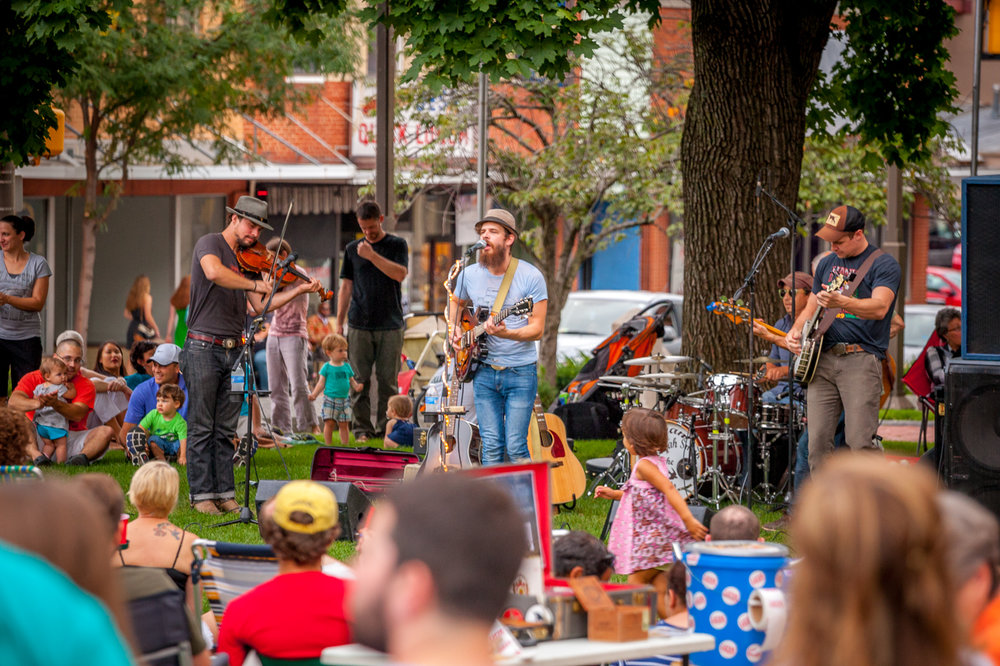 Fridays on the Square. Photo Credit: Michael Sheeler