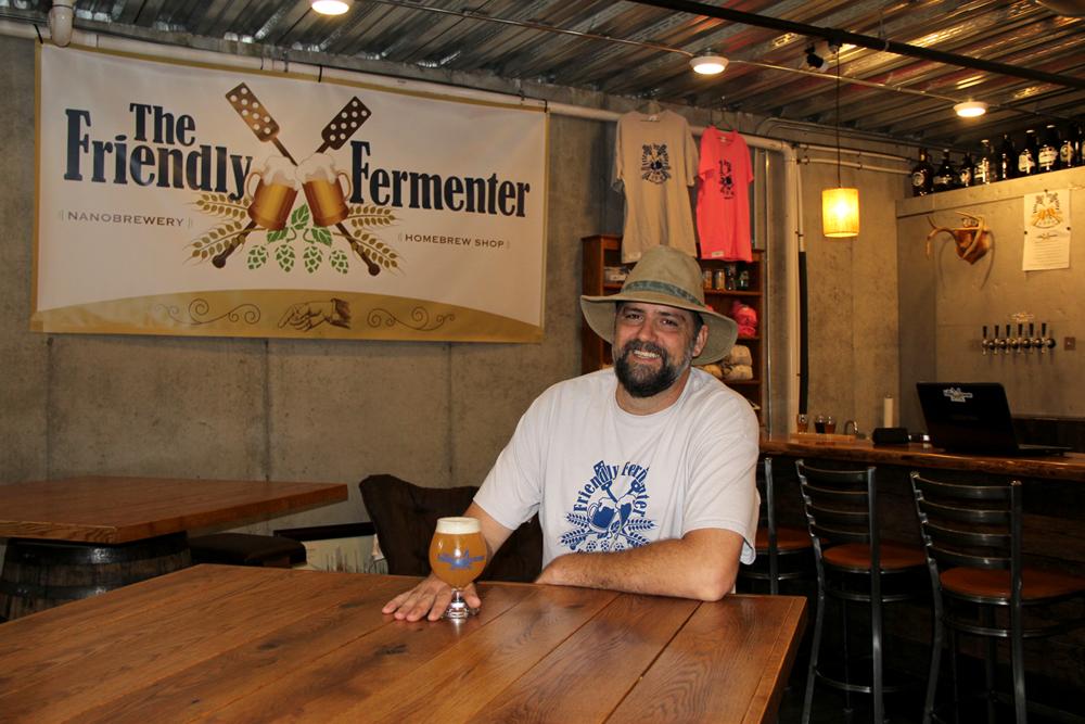 Shawn Gatesman, owner of The Friendly Fermenter