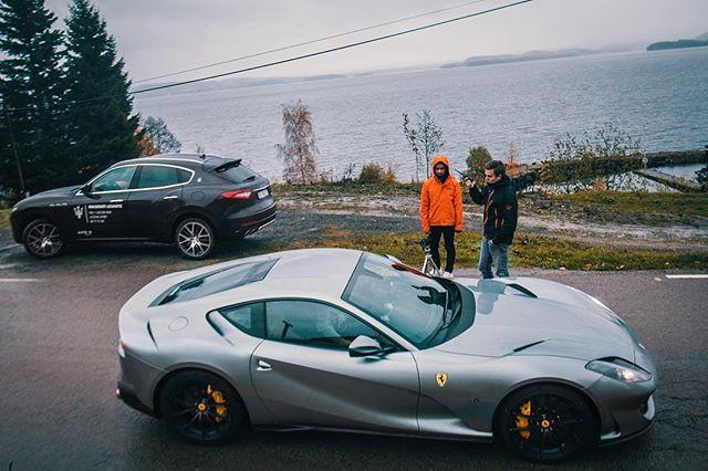 🇮🇹 Meet & Greet 🎣👋🏼 (behind the scenes from the Norwegian 812 film) #Ferrari #812 #Superfast #812Superfast #Ferrari812 #FerrariClubNorway