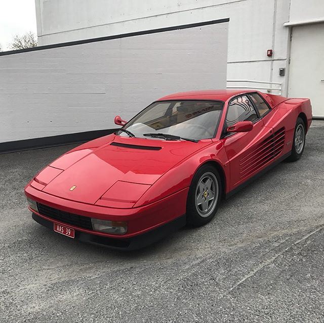 Classic 😍😎 #Ferrari #Testarossa #FerrariTestarossa #FerrariClubNorway