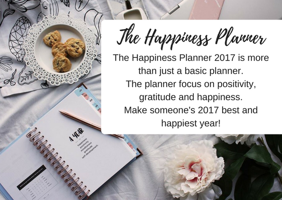 The Happiness Planner - Christmas Gift - Black Milk Women