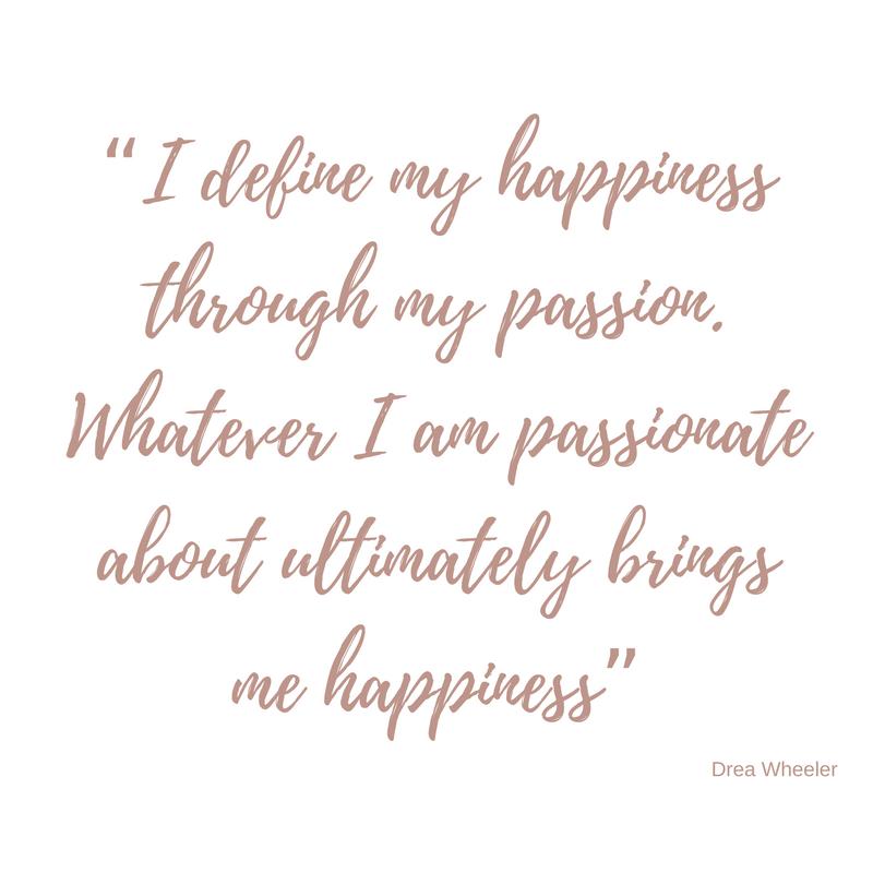 Drea Wheeler - A year of Happiness - Black Milk Women