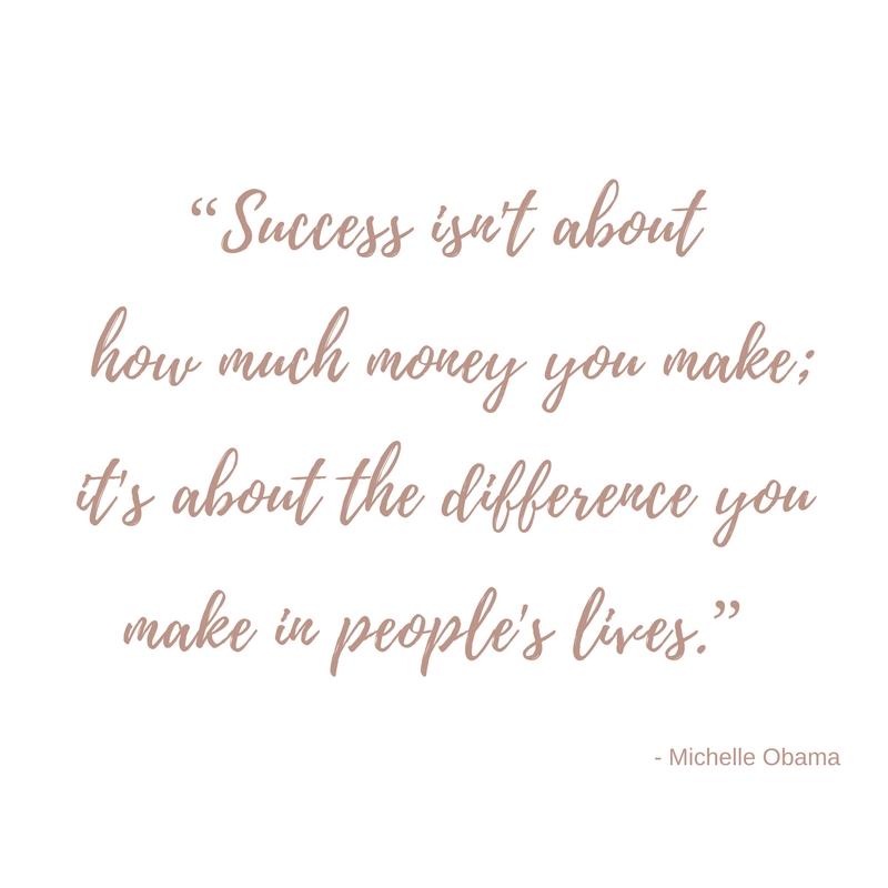 Quote about success - black milk women