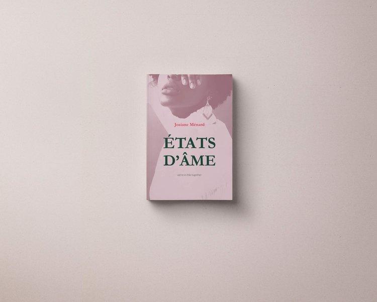 """Venez célébrer le lancement du premier recueil de poésie """"États d'âmes"""" de Josiane Menard, une jeune auteure de 30 ans, québécoise d'origine haïtienne et née à Trois-Rivières. Cet ouvrage, divisé en trois temps, raconte son histoire à travers de courts poèmes, parsemés de véritables entrées de son journal intime. Elle vous ouvre, en toute humilité, la porte de son jardin intérieur, afin de vous faire découvrir les secrets de sa vulnérabilité. Plus d'info +"""