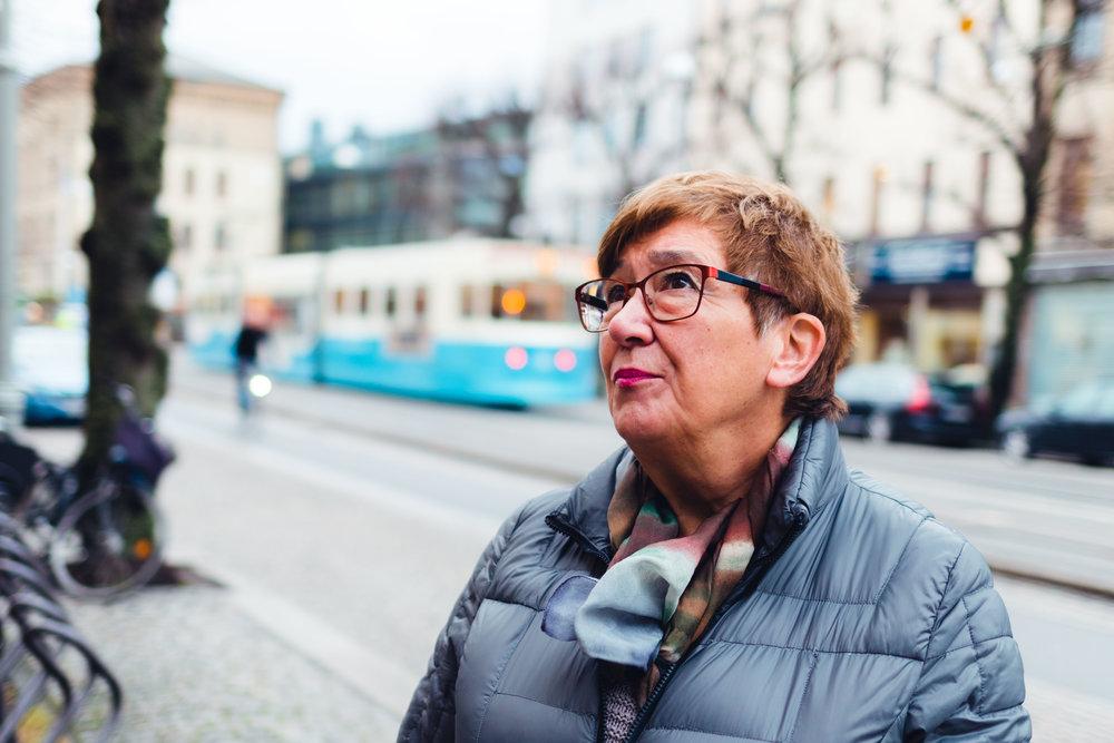 PARKERING GÖTEBORG RAPPORT - PORTRAITS