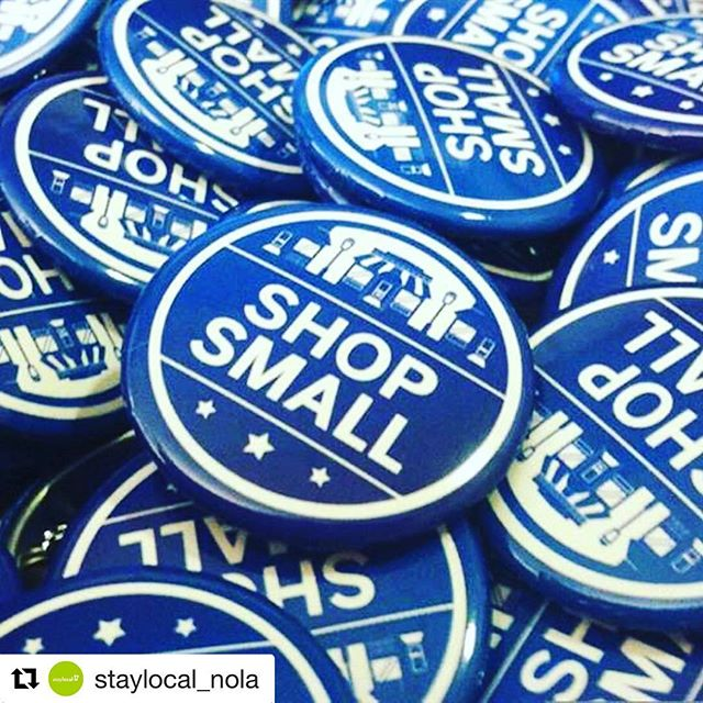 #Repost @staylocal_nola ・・・ Make #SmallBizSat a success! Kick-Off Party Nov. 2 hosted by StayLocal and LCIA. FREE Shop Small swag and expert PR tips from #NVisionsPR. Details at stay local.org!