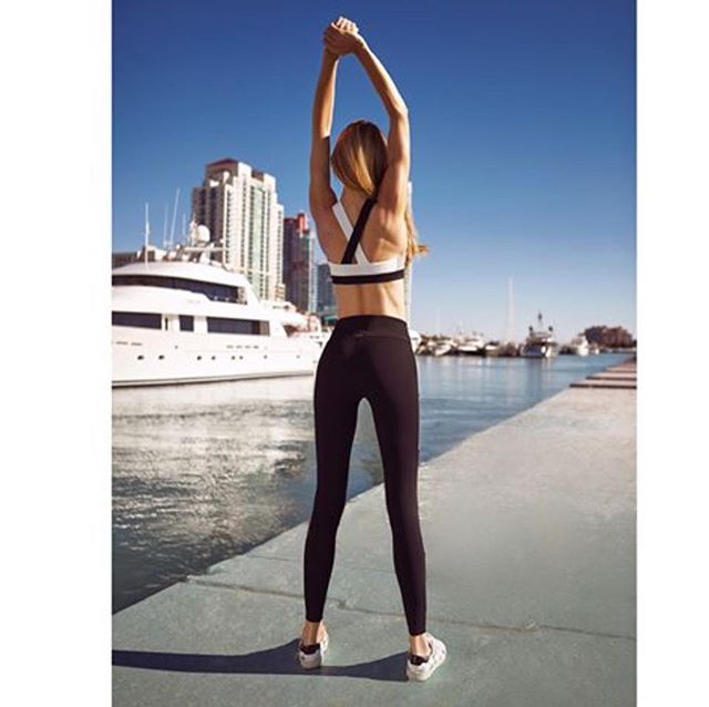 Stop by today to shop the Kayla Lattice Legging and Sports Bra from Vaara! #saturdaymornings #vaara
