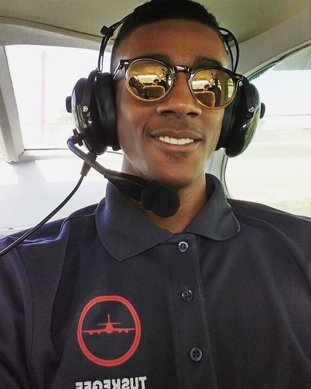 """Private Pilot Jibri Taylor graduated from the 2017 Tuskegee NEXT summer program and is currently a senior at Marist High School. He is an active member of ASEND, a mentoring college prep program.  Through diligence, discipline and hard work, Jibri has been accepted into Lewis University, Southern Illinois University (in Carbondale), Embry-Riddle, Indiana State and Kent State University. He will soon make his decision on which school he will be attending in the fall where he will be majoring in Electrical Engineering. Jibri will also continue his flight education aspiring to pass all of his Federal Aviation Administration (FAA) ratings in the pursuit to fly commercial and or jet planes.  Tuskegee NEXT was not only a way for Jibri to learn discipline but showed him that he can accomplish anything he sets his mind to. Private Pilot Jibri Taylor states: """"Tuskegee NEXT was a major catalyst for me to pursue more in life. I now set goals for myself and work to get them instead of just waiting for them to happen. Tuskegee NEXT also taught me how important it is to challenge myself for constant evolution."""" We are proud of Jibri and excited to see what his future holds.  #tuskegeenext #celebratingthepresent #goagainstthewind"""