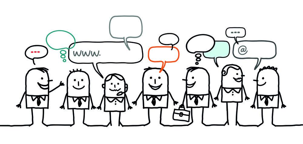 Kommunikation ... - ... ist eine gute Sache. Selbstverständlich und allgegenwärtig. Ob im geschäftlichen Bereich oder am Küchentisch. Ob mündlich oder niedergeschrieben auf einem Blatt Papier.
