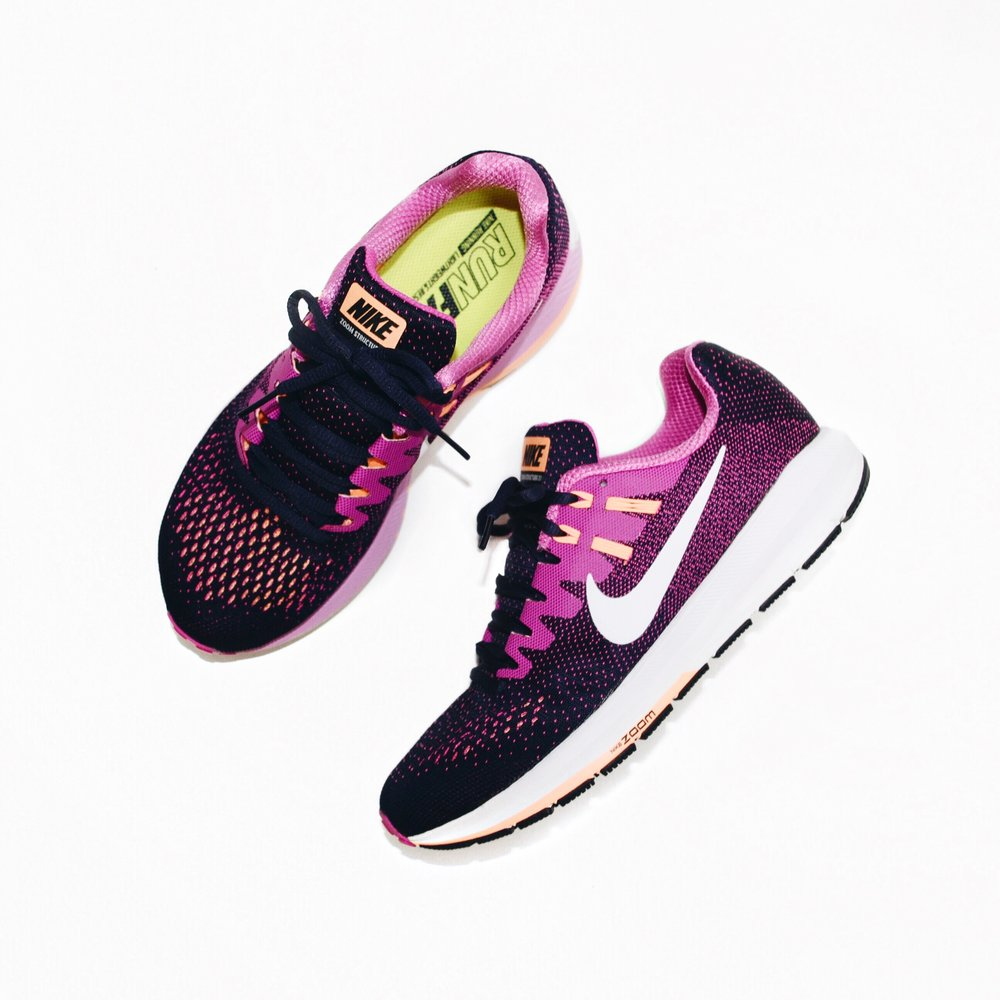 c66148d28ca ... the Nike Air Zoom Structure 20 Women s Running Shoe is updated with a  wider base for incredible stability